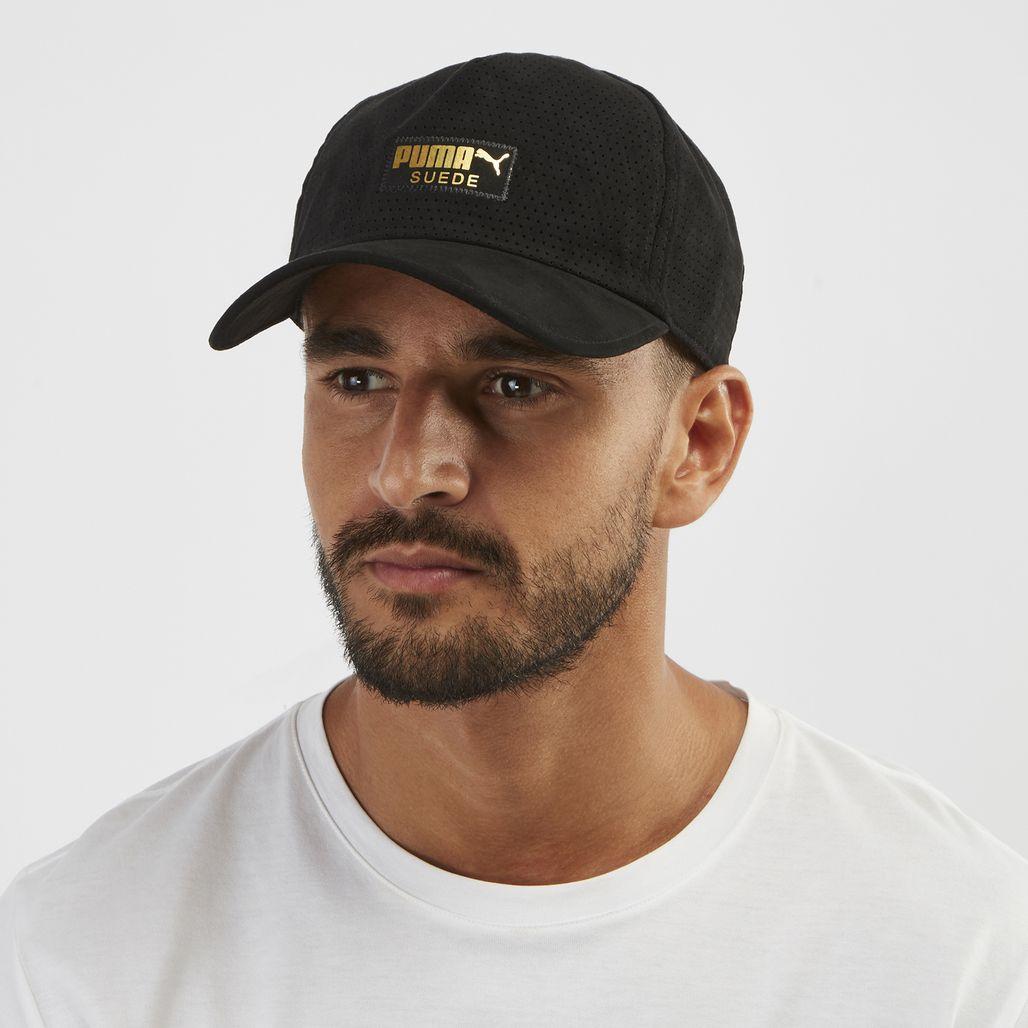 PUMA Suede Cap - Black