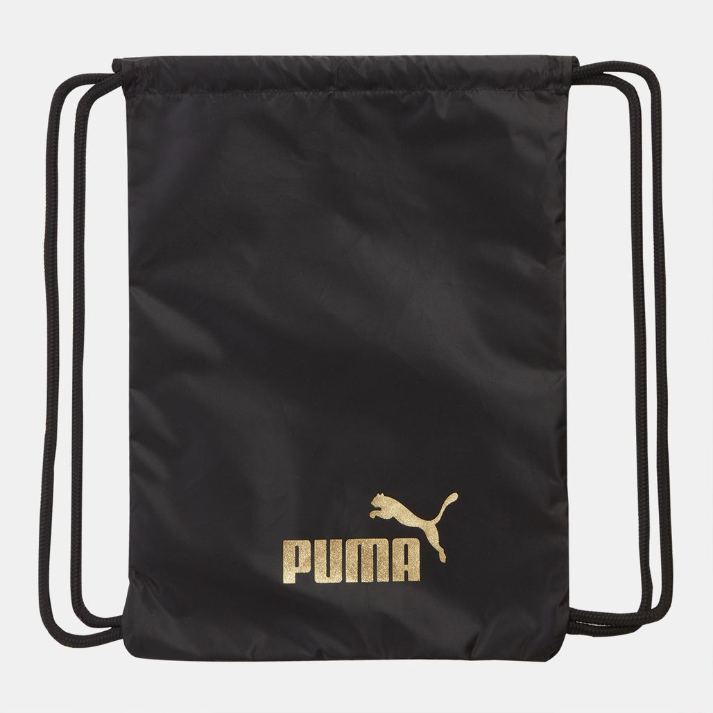 PUMA Core Seasonal Gym Sack - Black