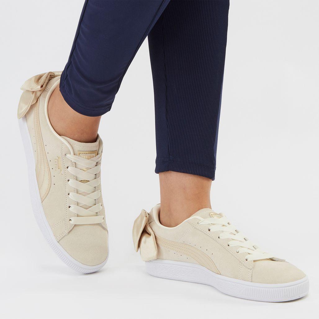 PUMA Suede Bow Varsity Shoe