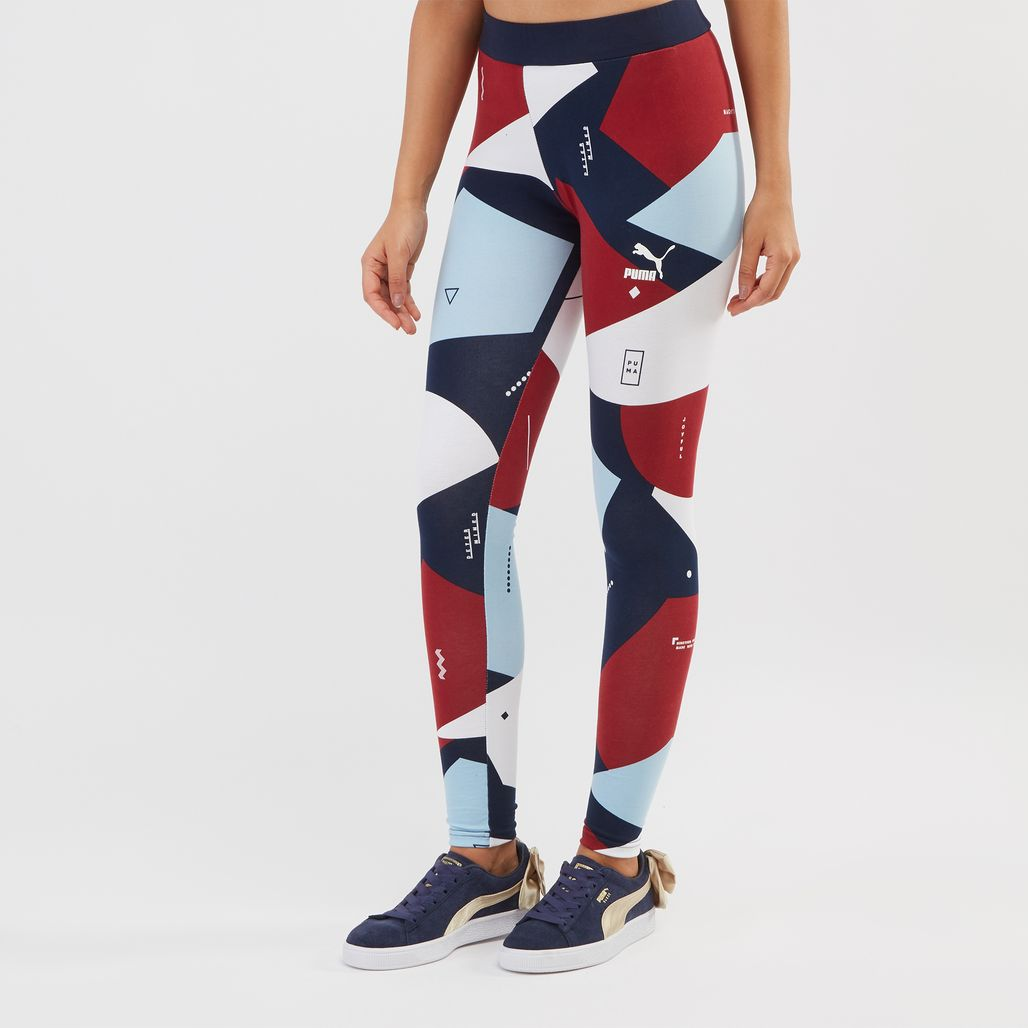 PUMA Classics All Over Print Leggings