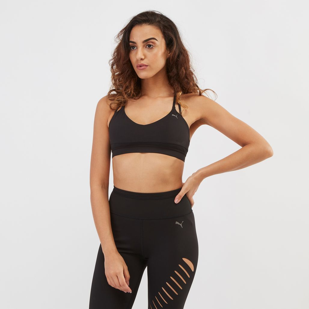 PUMA Strappy Mix Sports Bra