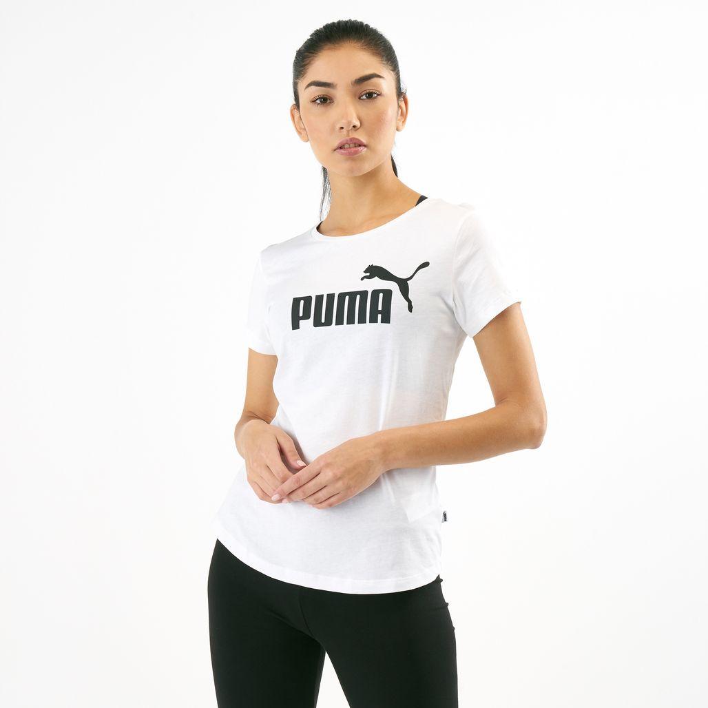 PUMA Women's Essential Logo T-Shirt