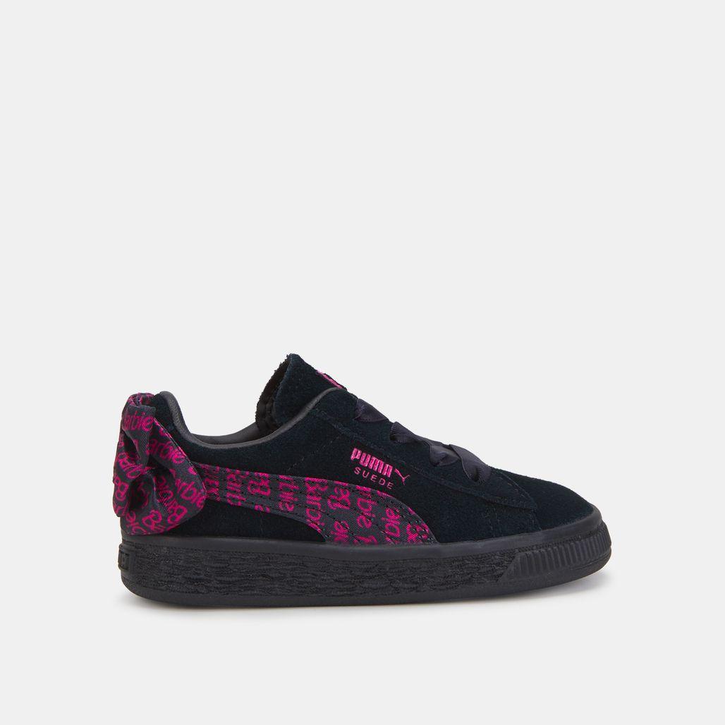 حذاء بوما × باربي سويد كلاسيك من بوما للاطفال