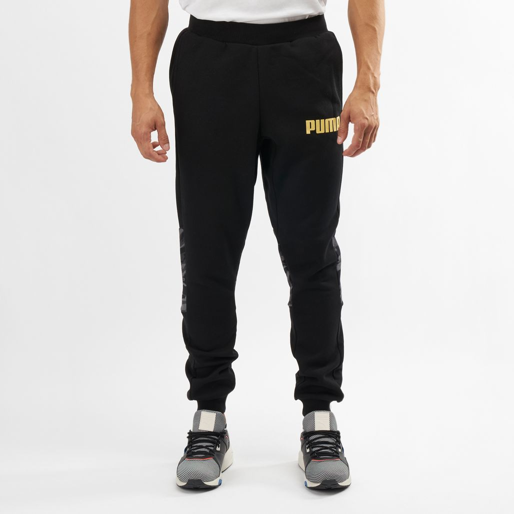PUMA Men's Camo Sweatpants