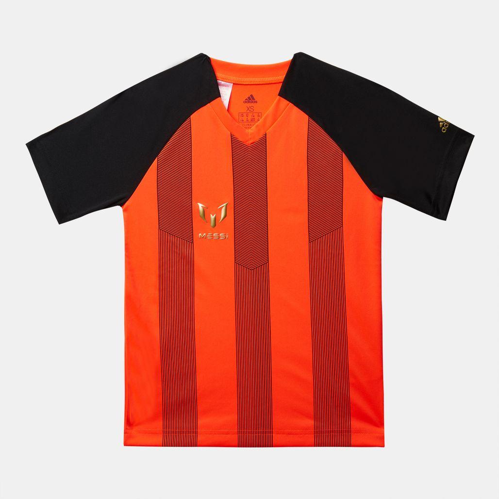 adidas Kids' Messi Icon Football T-Shirt