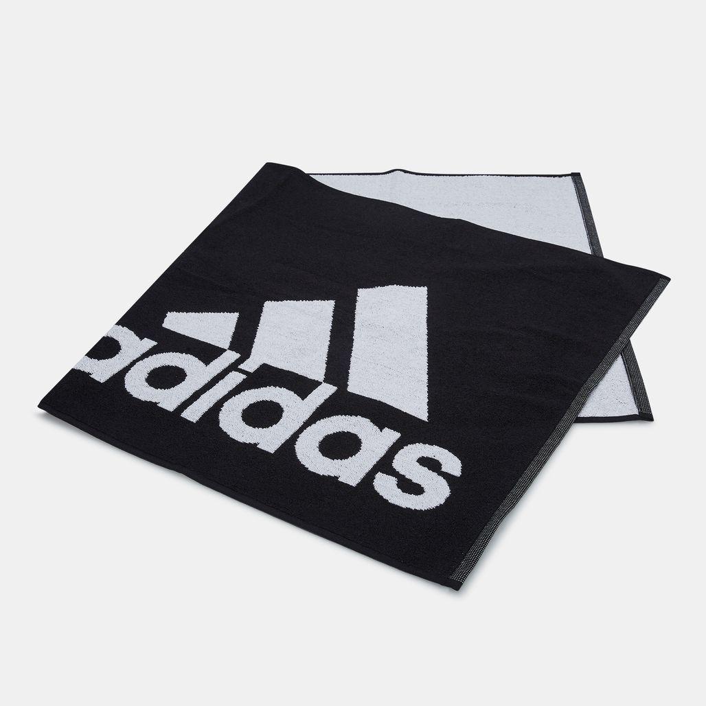 adidas Logo Small Towel - Black