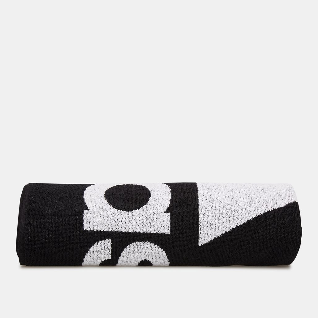 adidas Logo Large Towel - Black