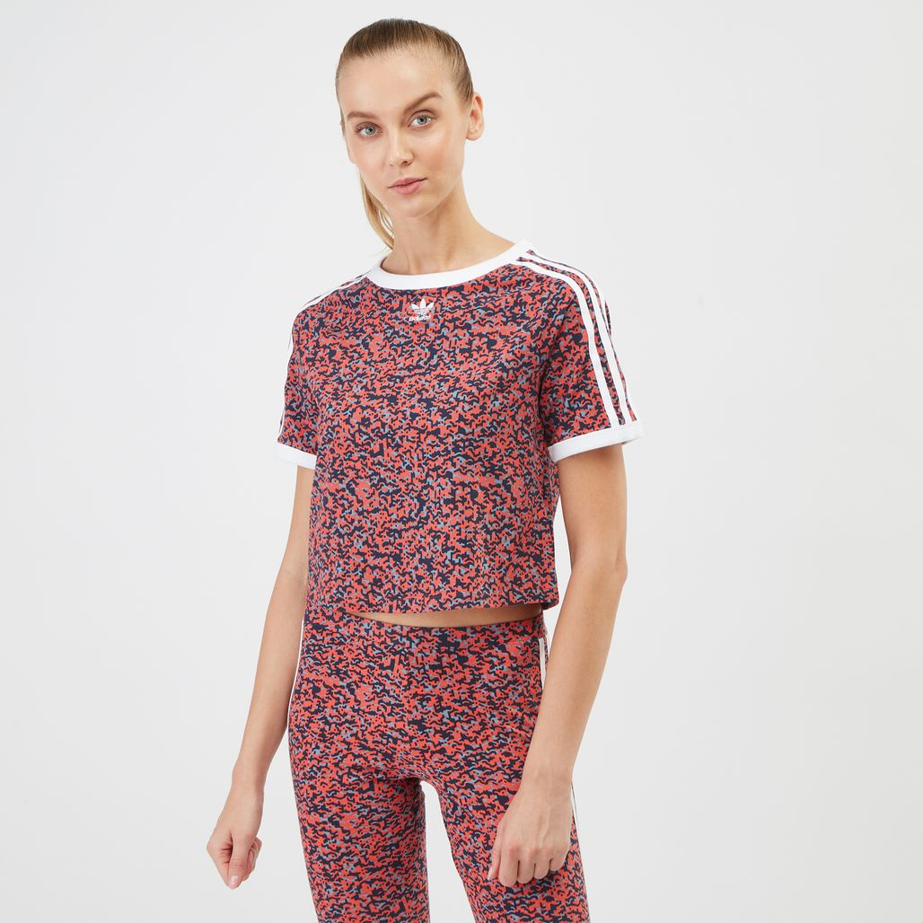 adidas Originals Active Icons Cropped T-Shirt