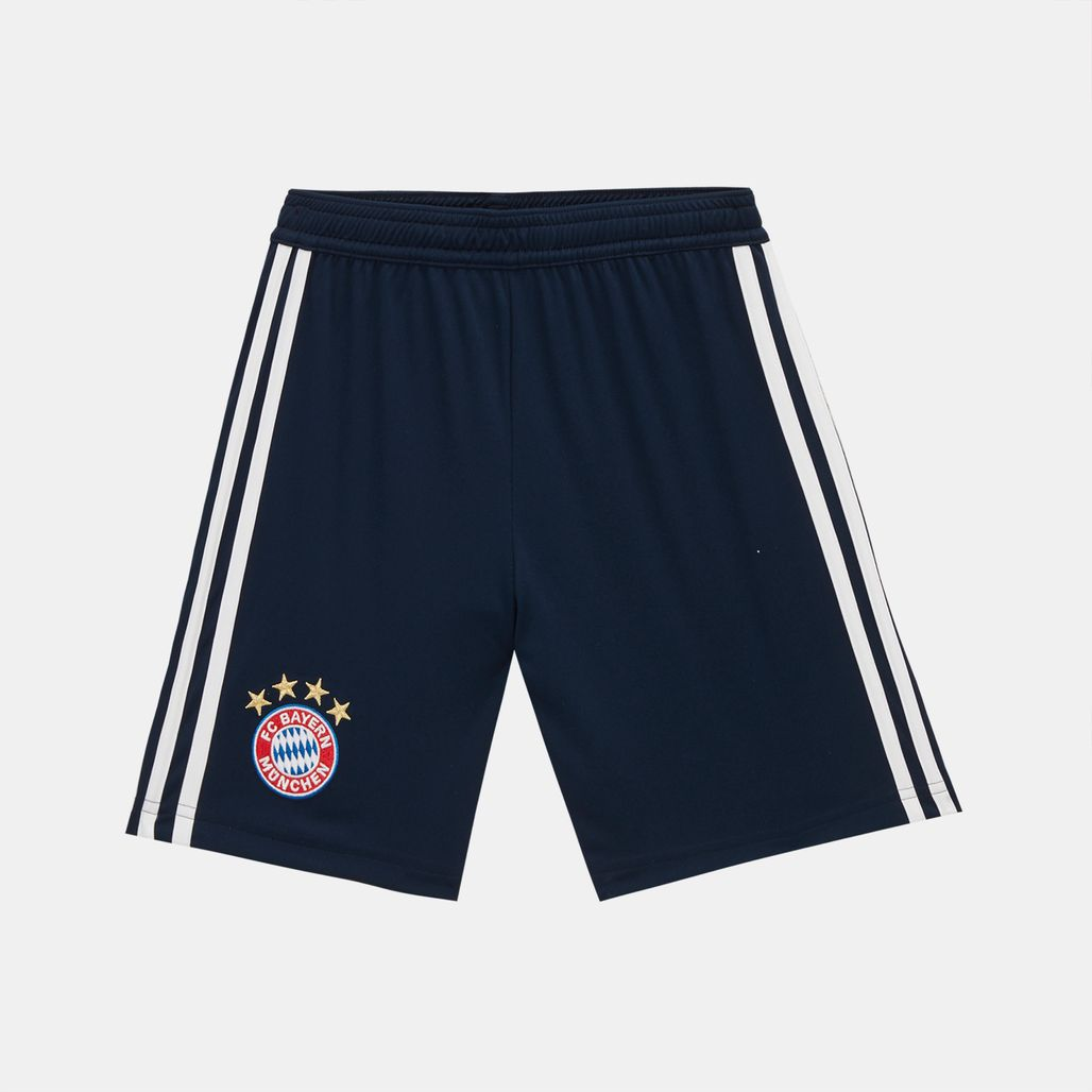 adidas Kids' FC Bayern Home Replica Football Shorts - 2018/19