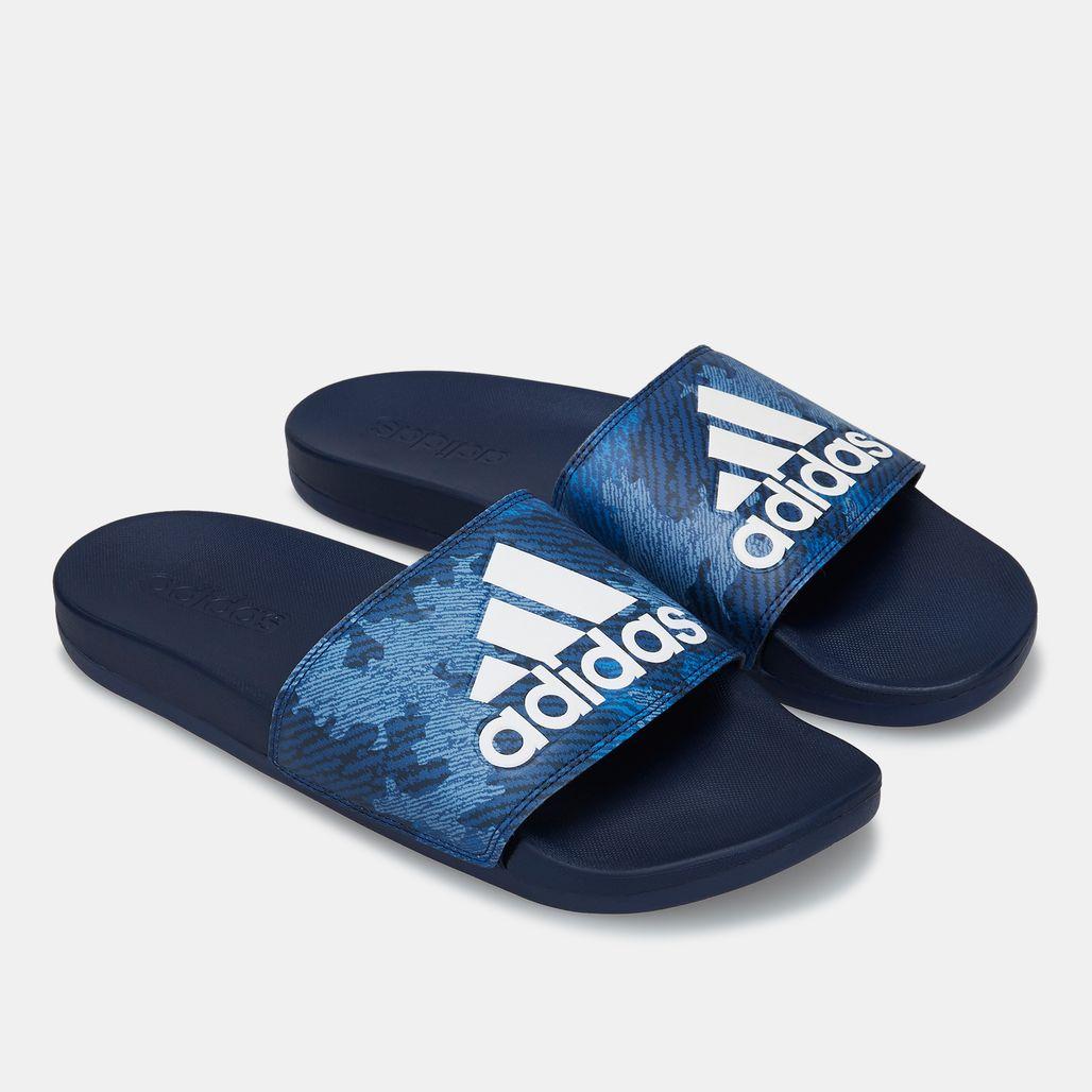 adidas Men's Adilette Cloudfoam Plus Comfort Slides