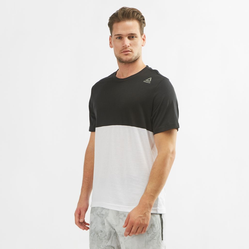 Reebok Elements Yarn Dye T-Shirt