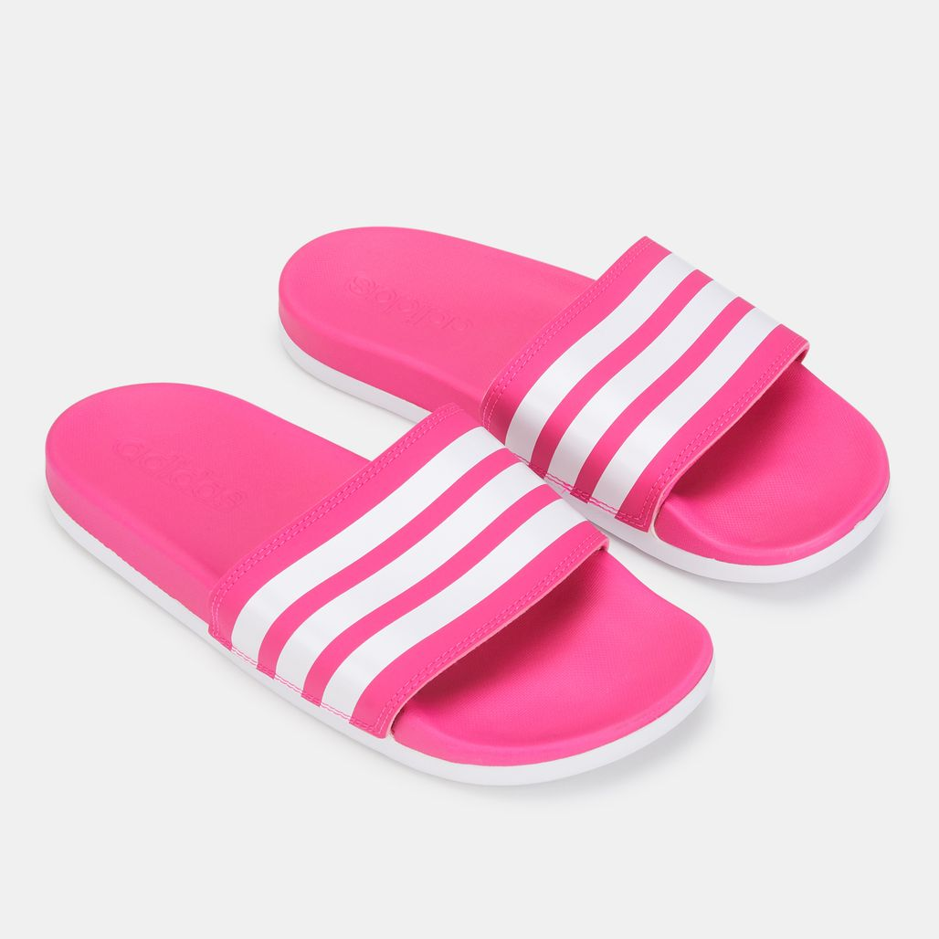 adidas Women's adilette Cloudfoam Plus Slides