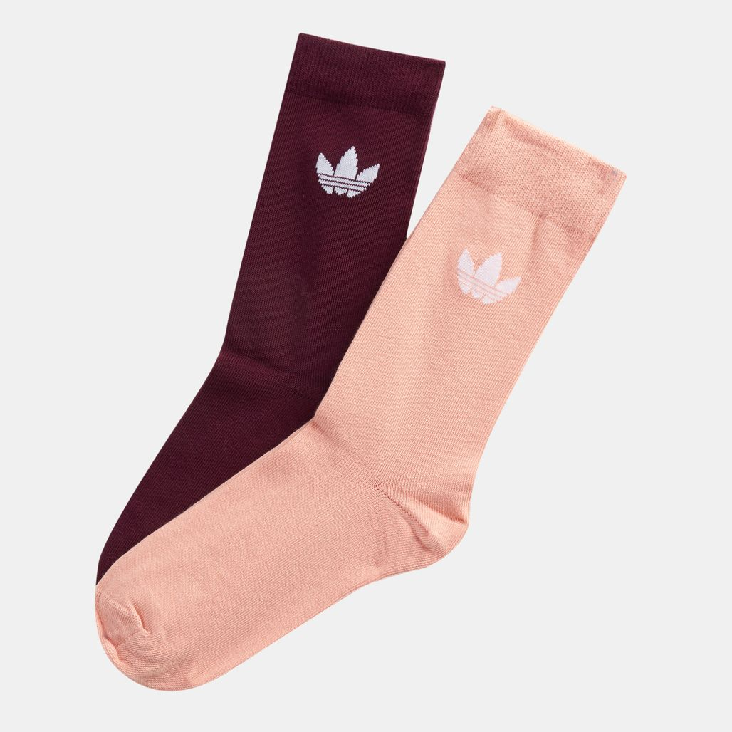 adidas Originals Thin Trefoil Crew Socks 2 Pair