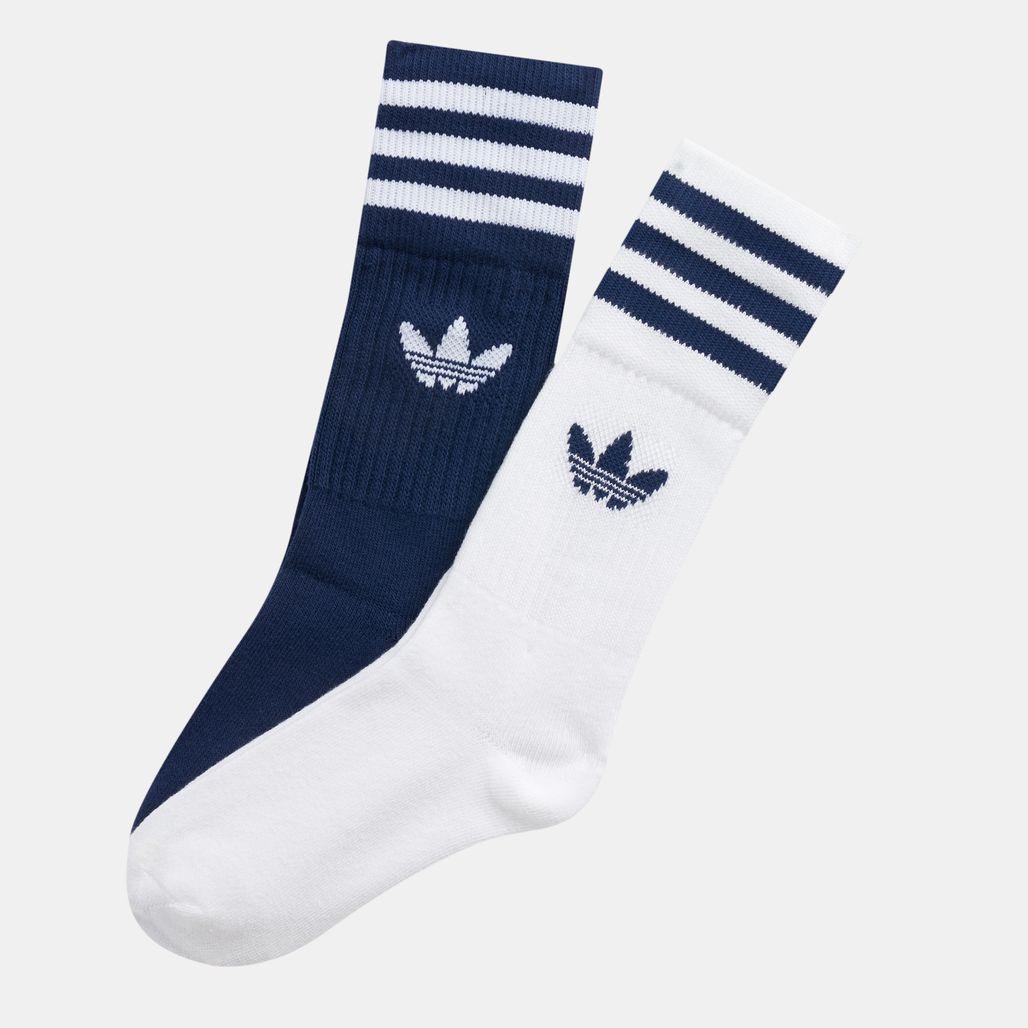 adidas Originals Solid Crew Socks (2 Pairs)