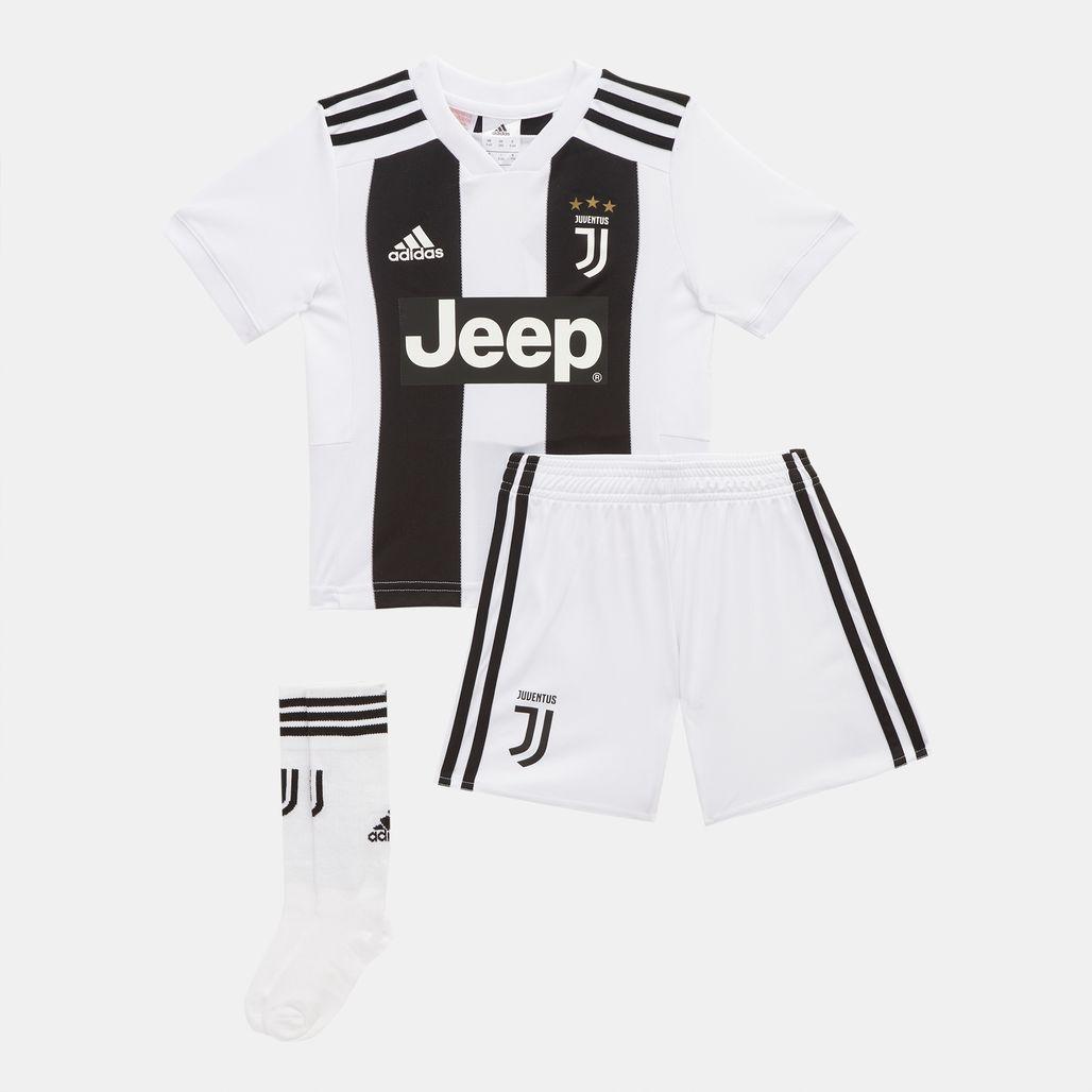 adidas Kids' Juventus Mini Home Football Kit - 2018/19