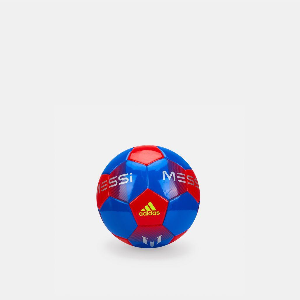 كرة القدم ميسي ميني من اديداس للرجال - أزرق