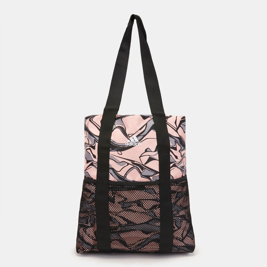 adidas Training Core Shopper Graphic Bag - Orange