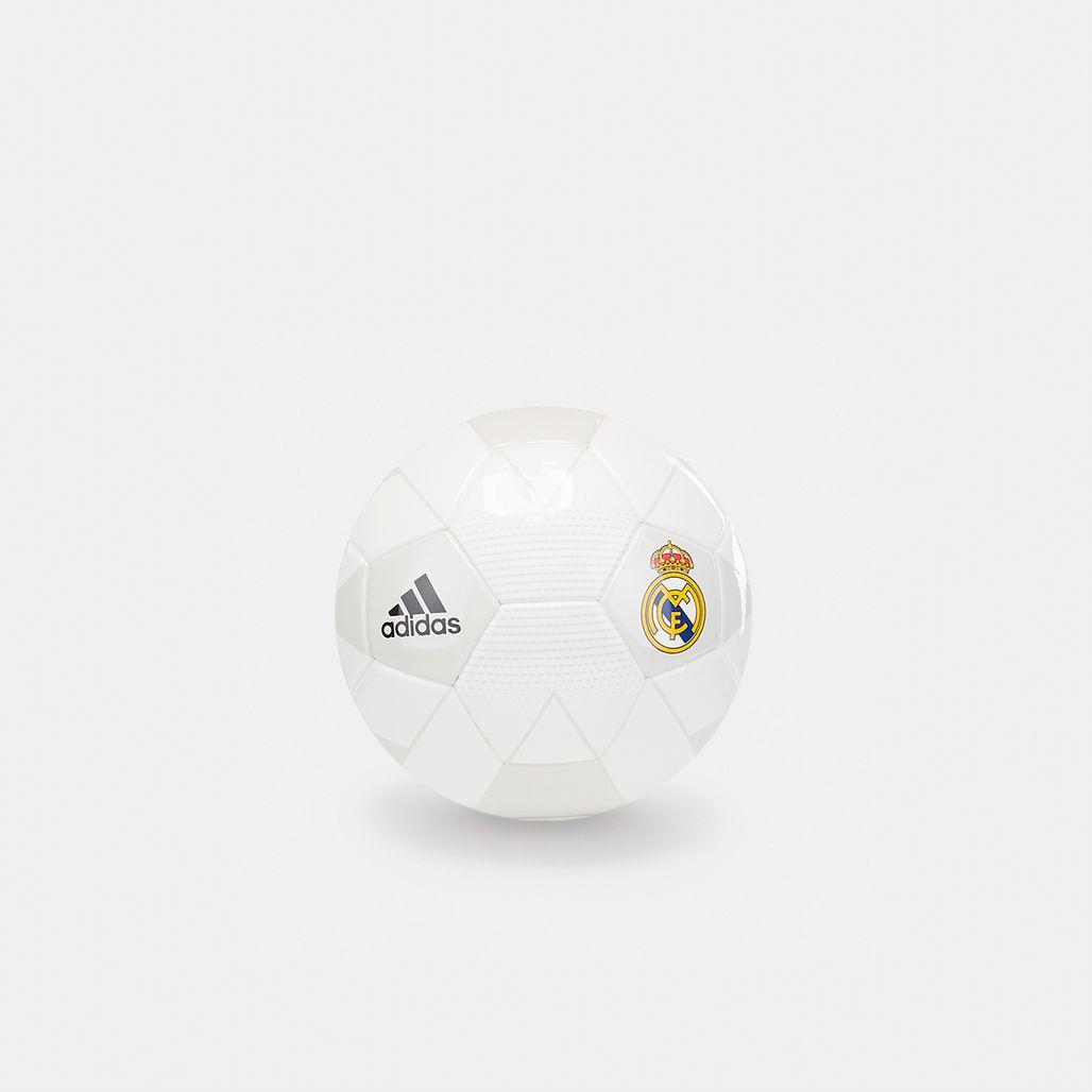 adidas Real Madrid Mini Football - White