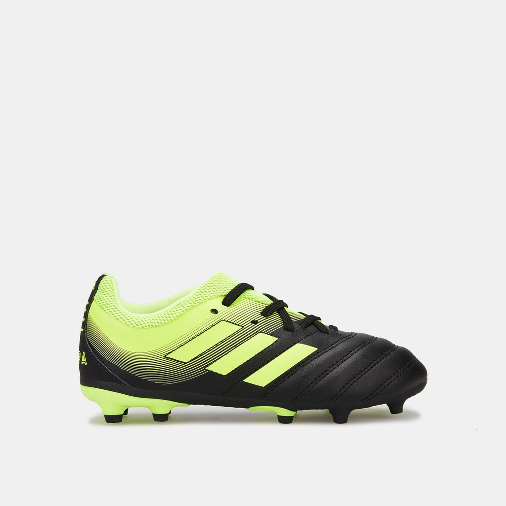 adidas Kids' Exhibit Pack Copa 19.3 Firm Ground Football Shoe
