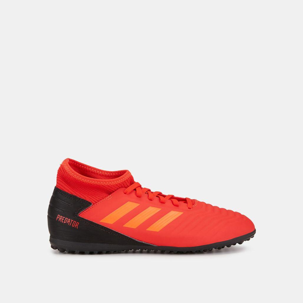 adidas Kids' Initiator Pack Predator 19.3 Turf Ground Football Shoe (Older Kids)