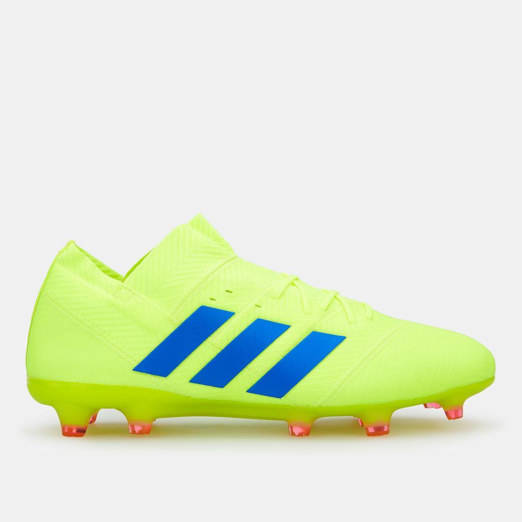 Adidas Men's Exhibit Pack Nemeziz 18.1 Firm Ground Football Shoe