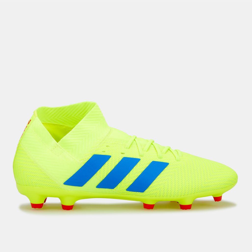 adidas Men's Exhibit Pack Nemeziz 18.3 Firm Ground Football Shoe