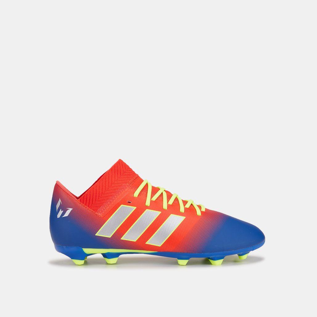 adidas Kids' Initiator Pack Nemeziz Messi 18.3 Firm Ground Football Shoe