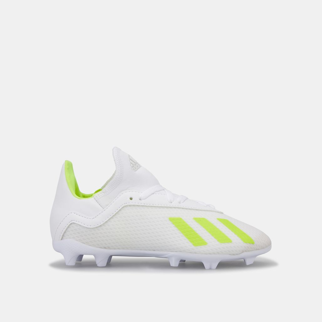 adidas Kids' Virtuoso Pack X 18.3 Firm Ground Football Shoe (Younger Kids)