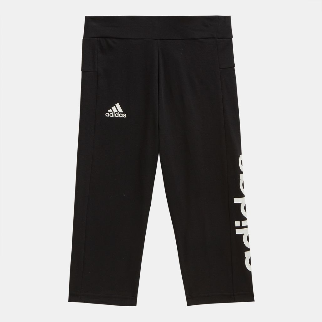 adidas Kids' Linear Capri Leggings