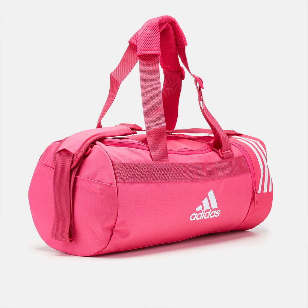 4be1ccff01 ... 1187245 adidas Convertible 3-Stripes Duffel Bag - Small - Pink