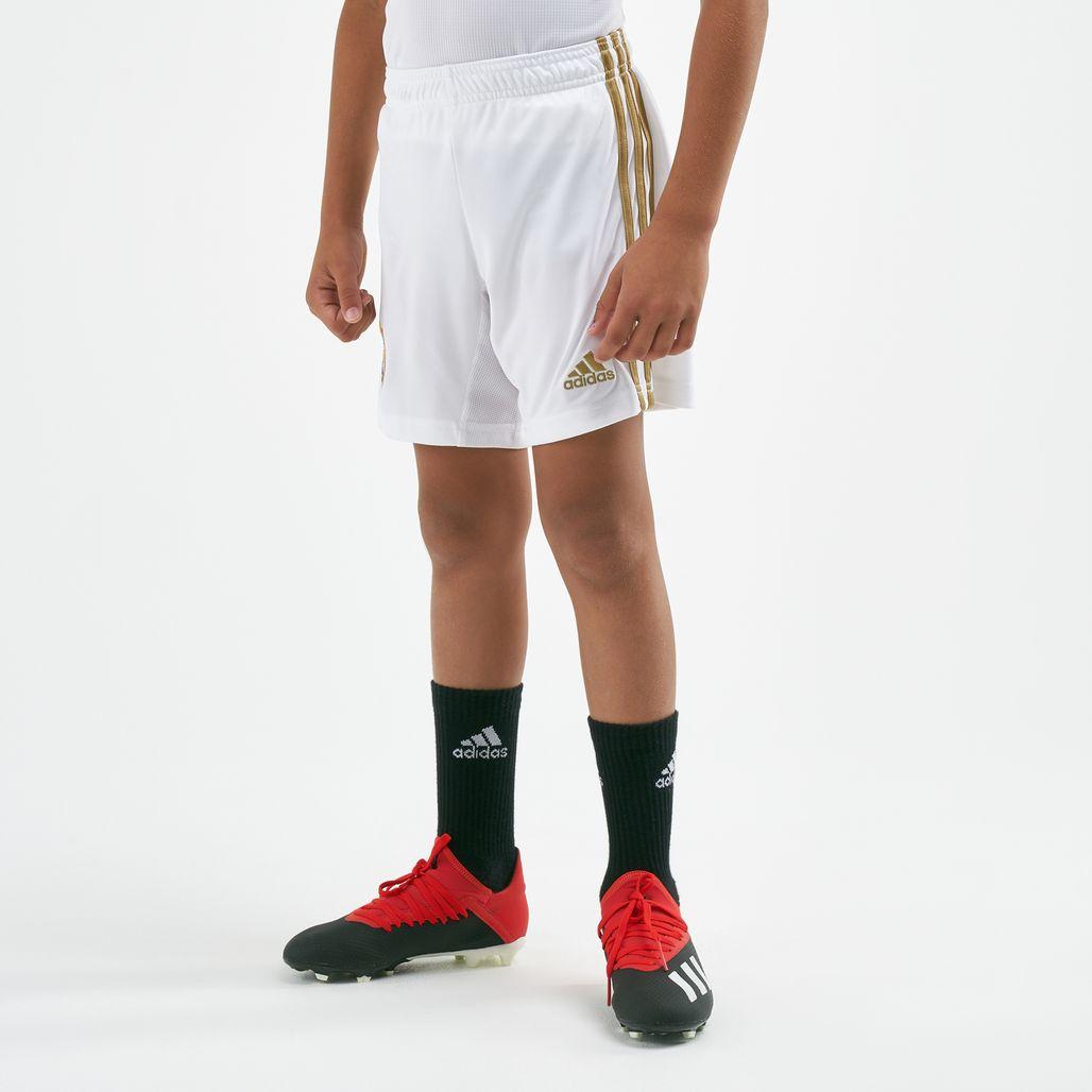 شورت فريق ريال مدريد الأساسي من اديداس للاطفال