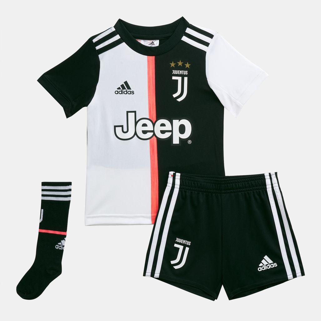 adidas Kids' Juventus Home Mini Kit - 2019/20 (Younger Kids)