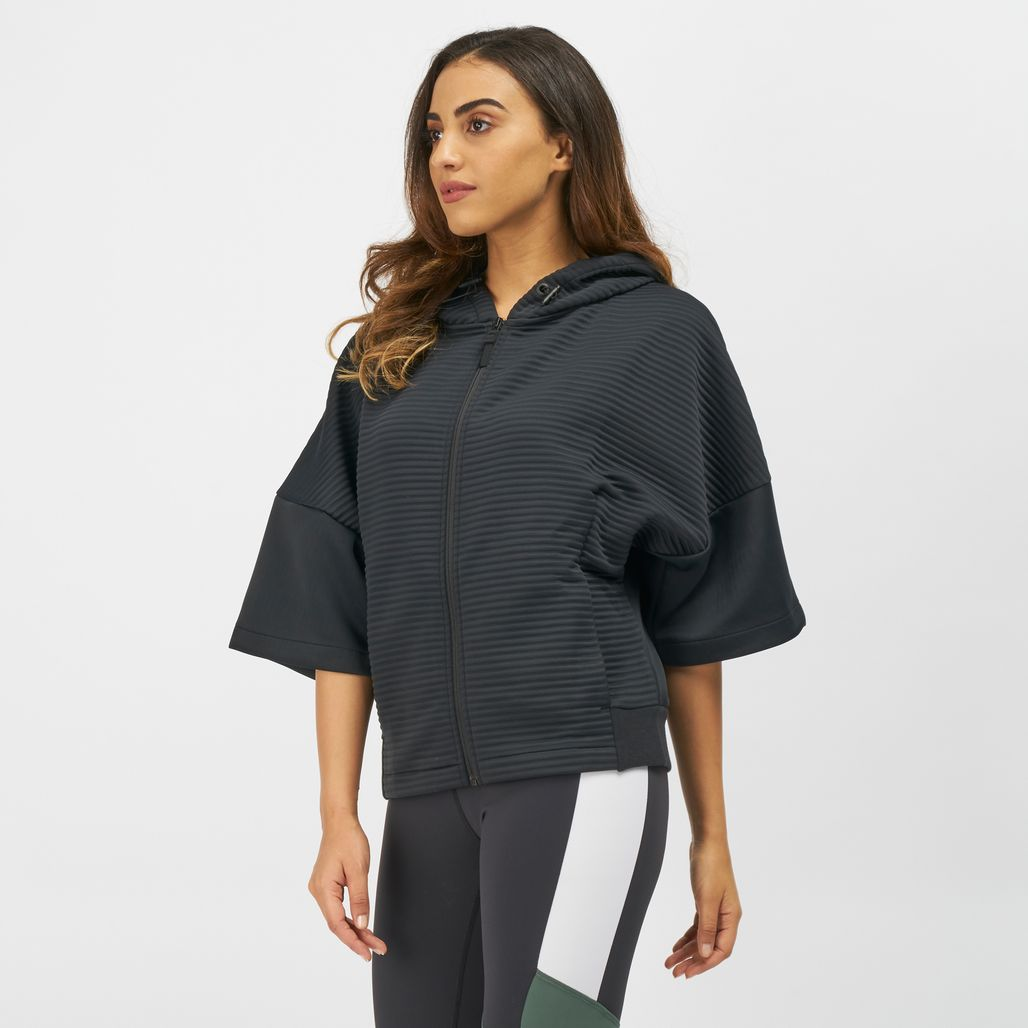 Reebok Thermowarm Deltapeak Short Sleeve Full-Zip Jacket
