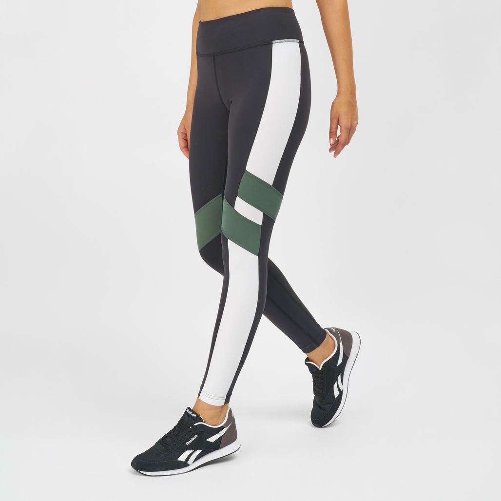 Reebok Lux Colour Block Leggings