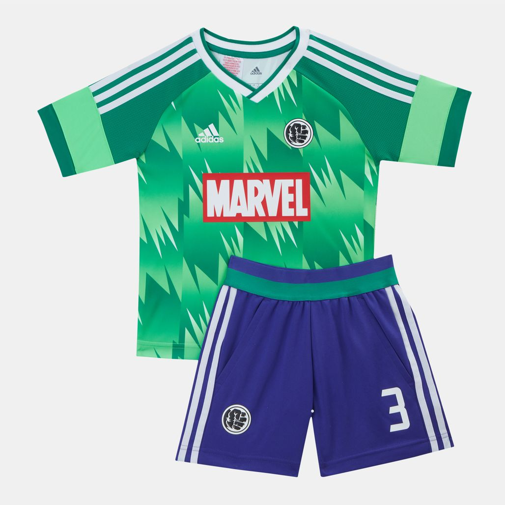 adidas Kids' Marvel Hulk Football Set