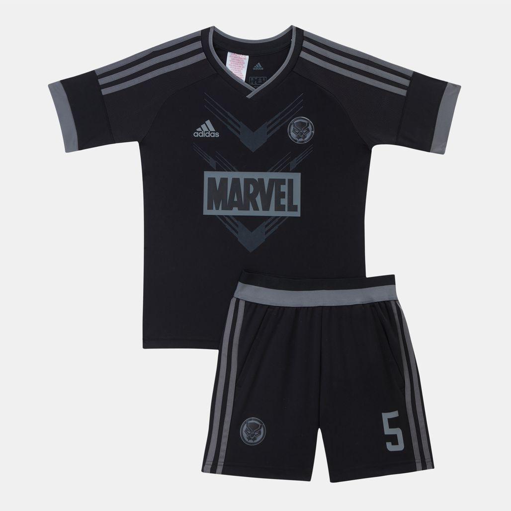 adidas Kids' Marvel Black Panther Football Set