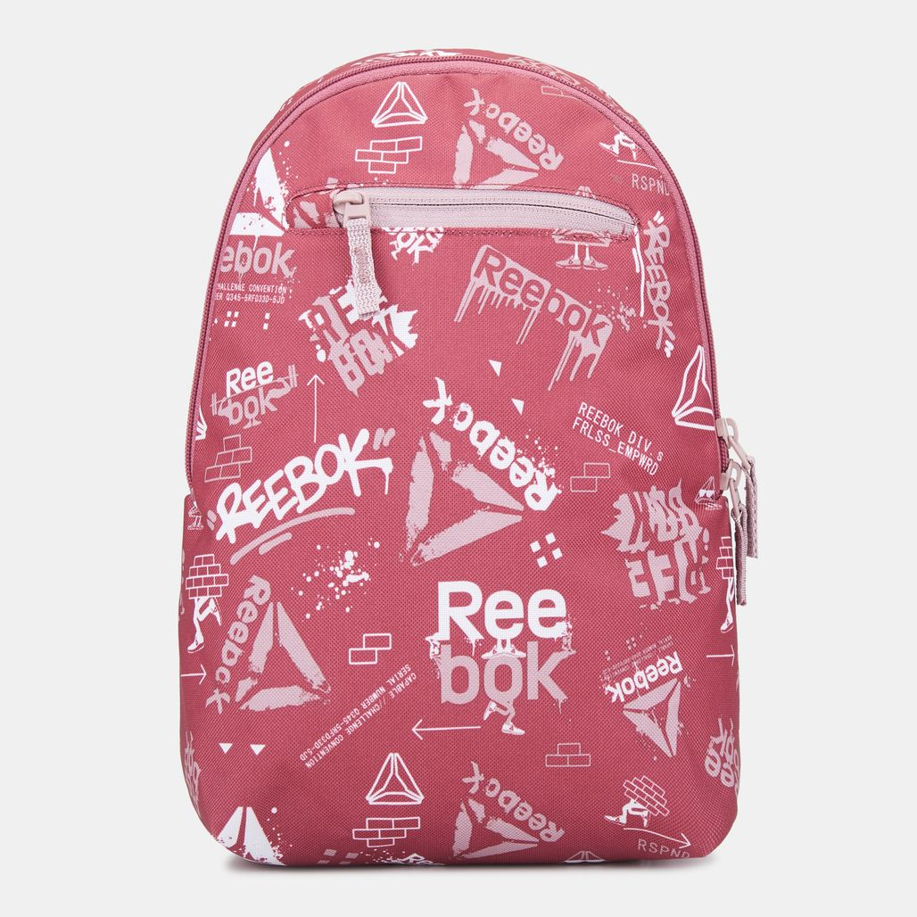 Reebok Kids' Small Graphic Backpack - Red