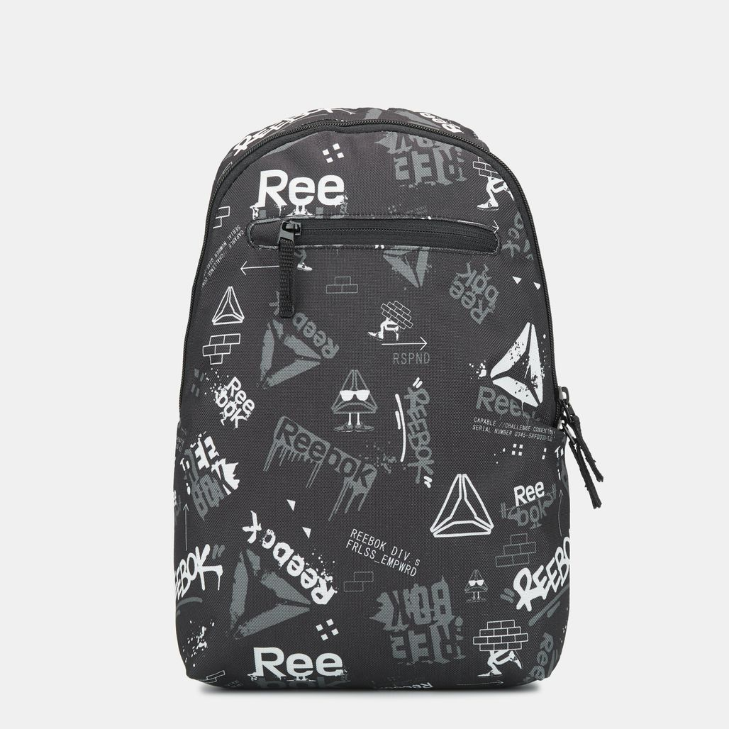 Reebok Kids' Small Graphic Backpack - Black