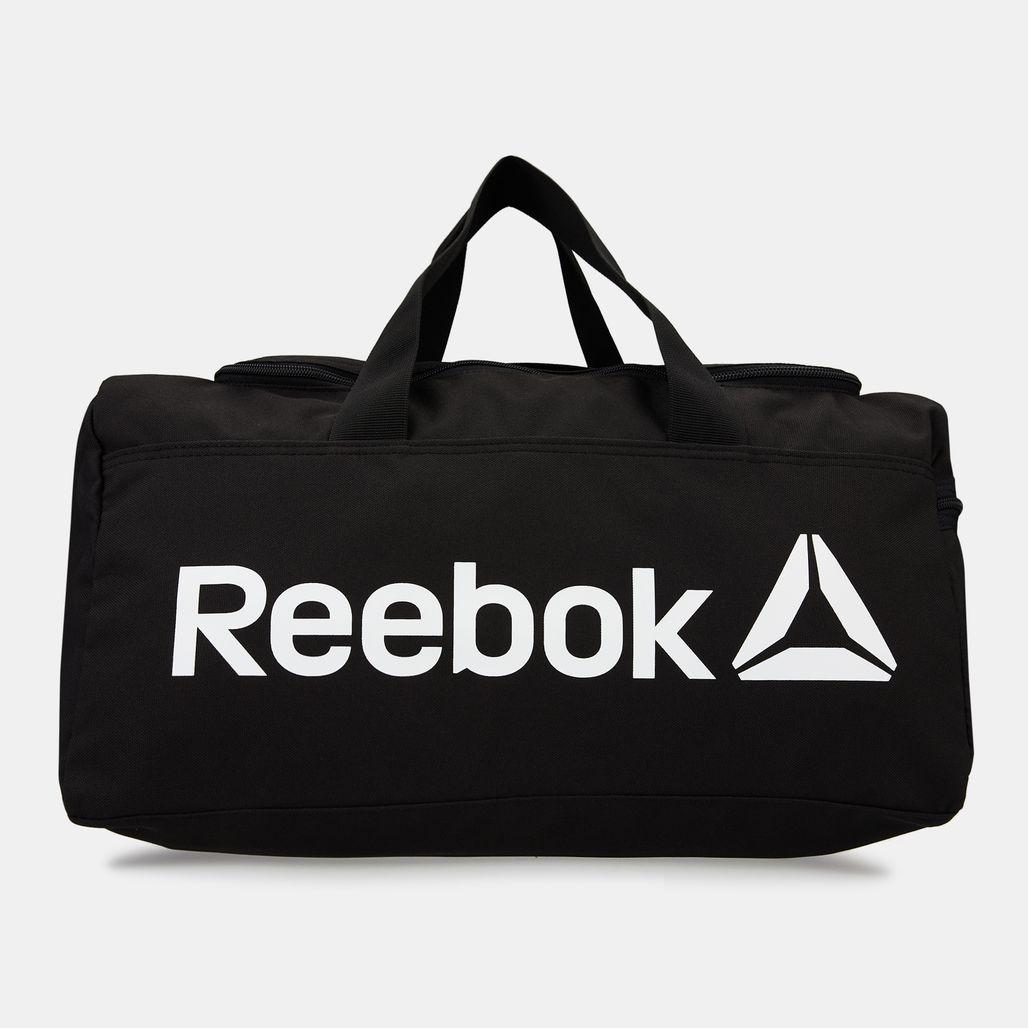 Reebok Men's Active Core Grip Duffel Bag - Black