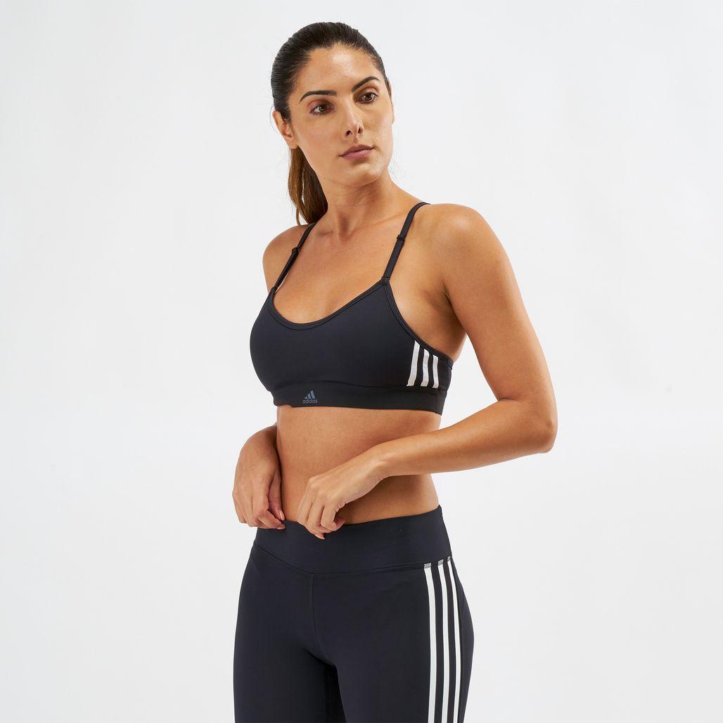 adidas All Me 3-Stripes Sports Bra