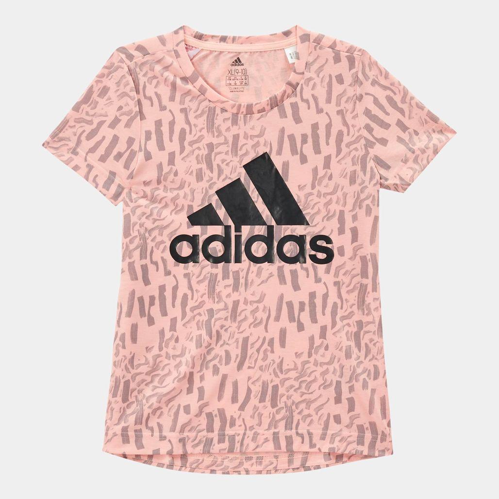 adidas Kids' Badge Of Sport T-Shirt (Little Girls)