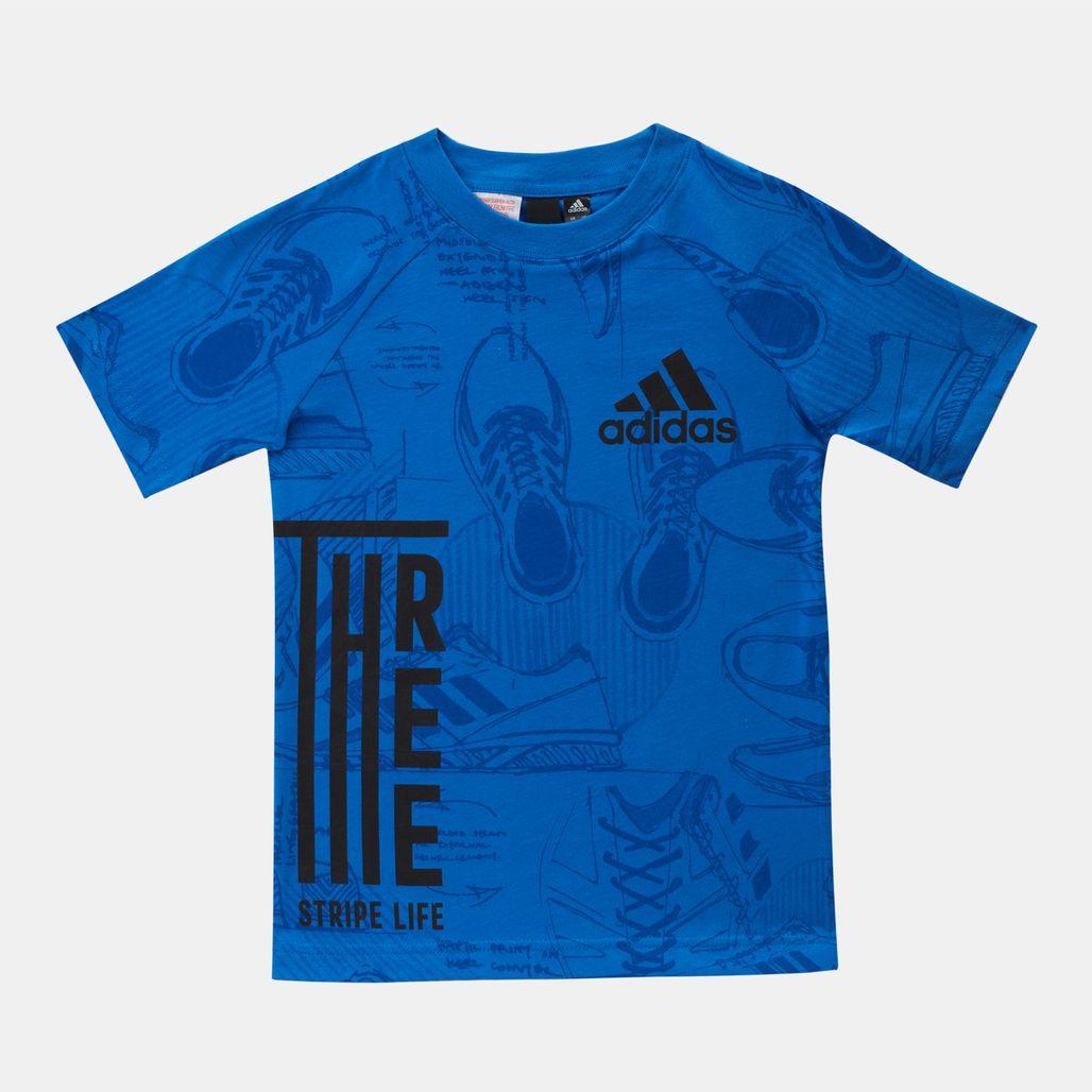 adidas Kids' ID Print T-Shirt