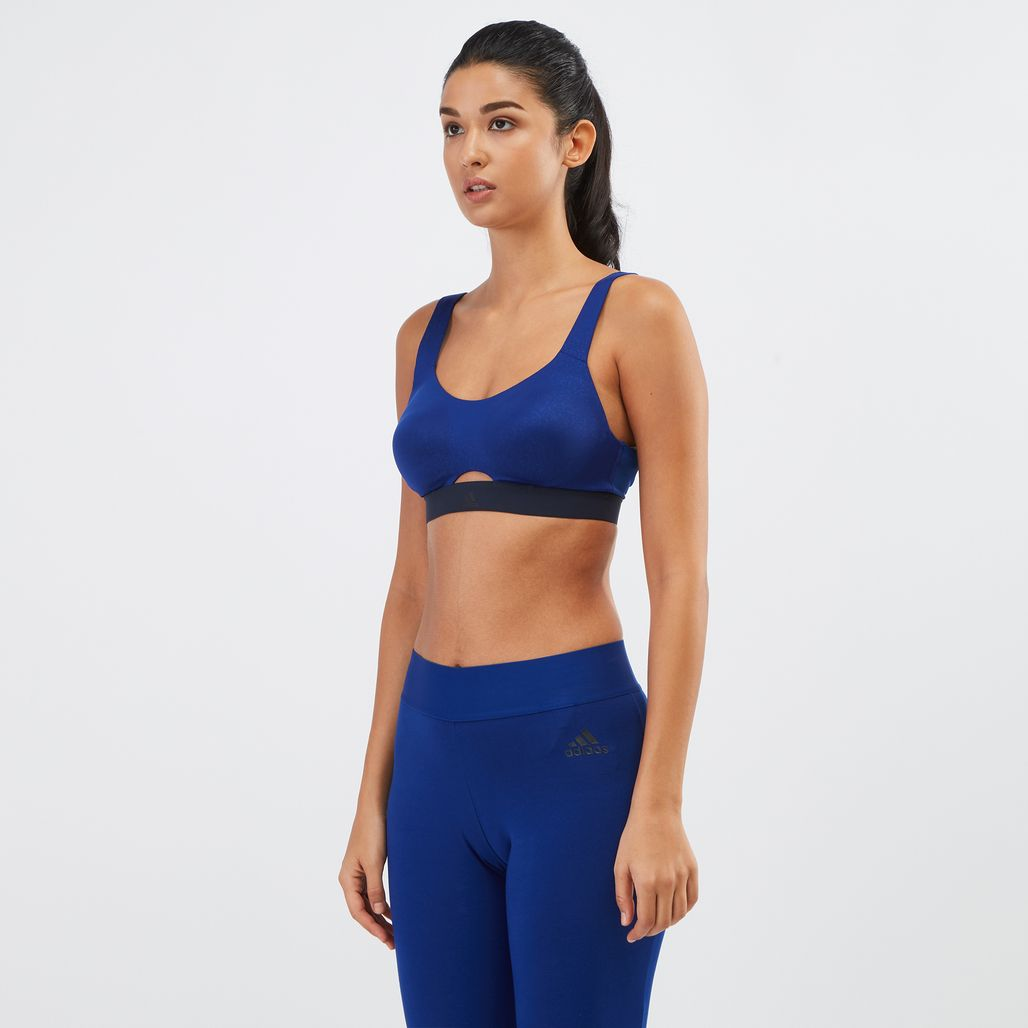 adidas Stronger For It Soft Printed Sports Bra