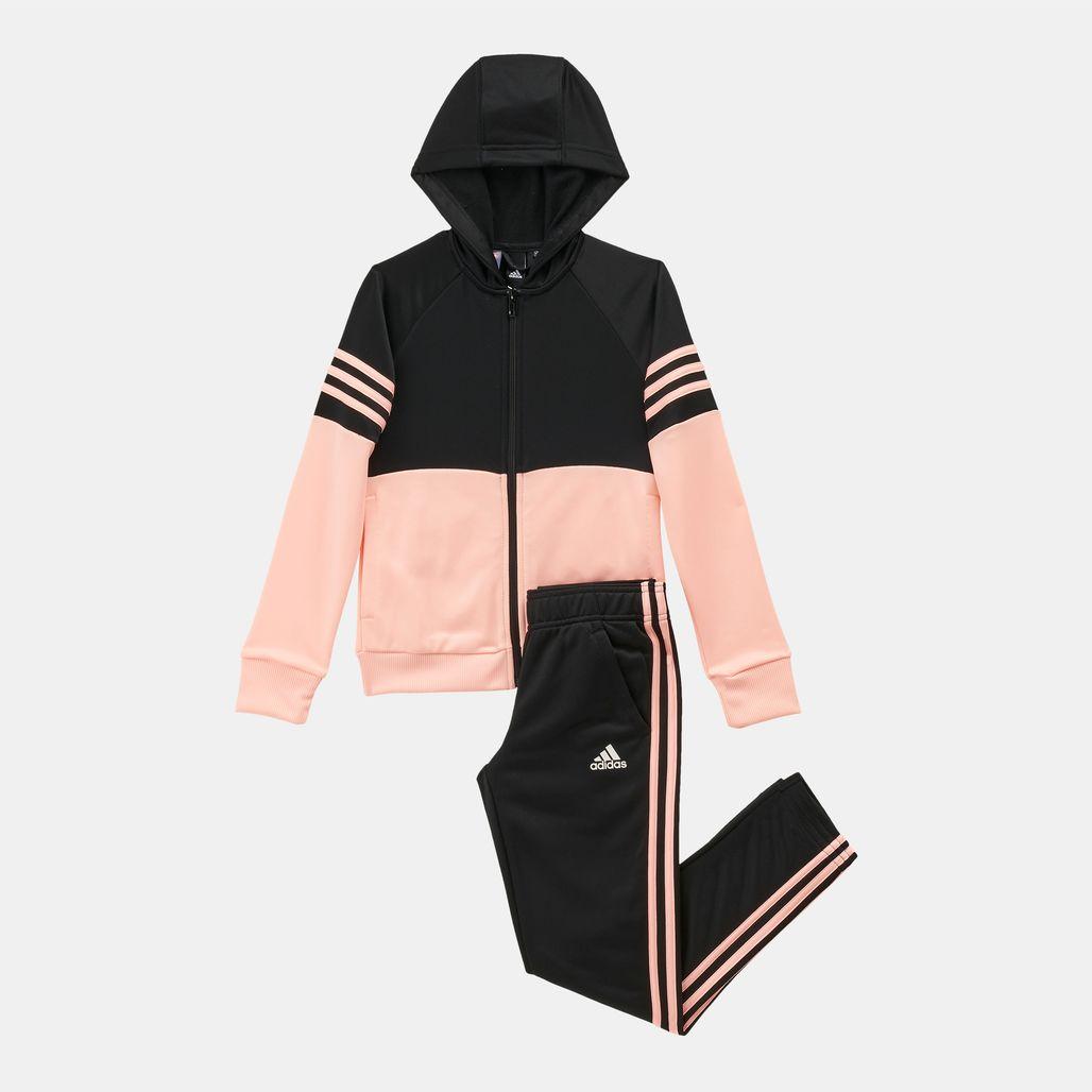 adidas Kids' Hooded Track Suit