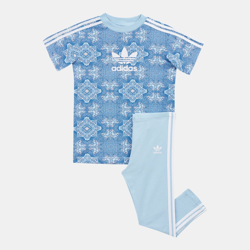 adidas Originals Kids' Culture Clash T-Shirt and Leggings Set (Baby and Toddler)