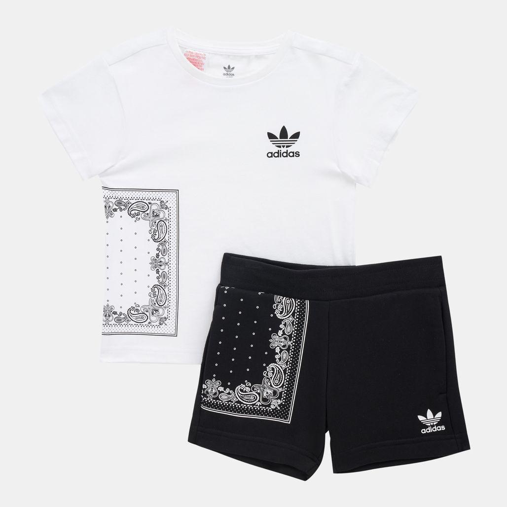 adidas Originals Kids' Bandana Tee Set (Younger Kids)