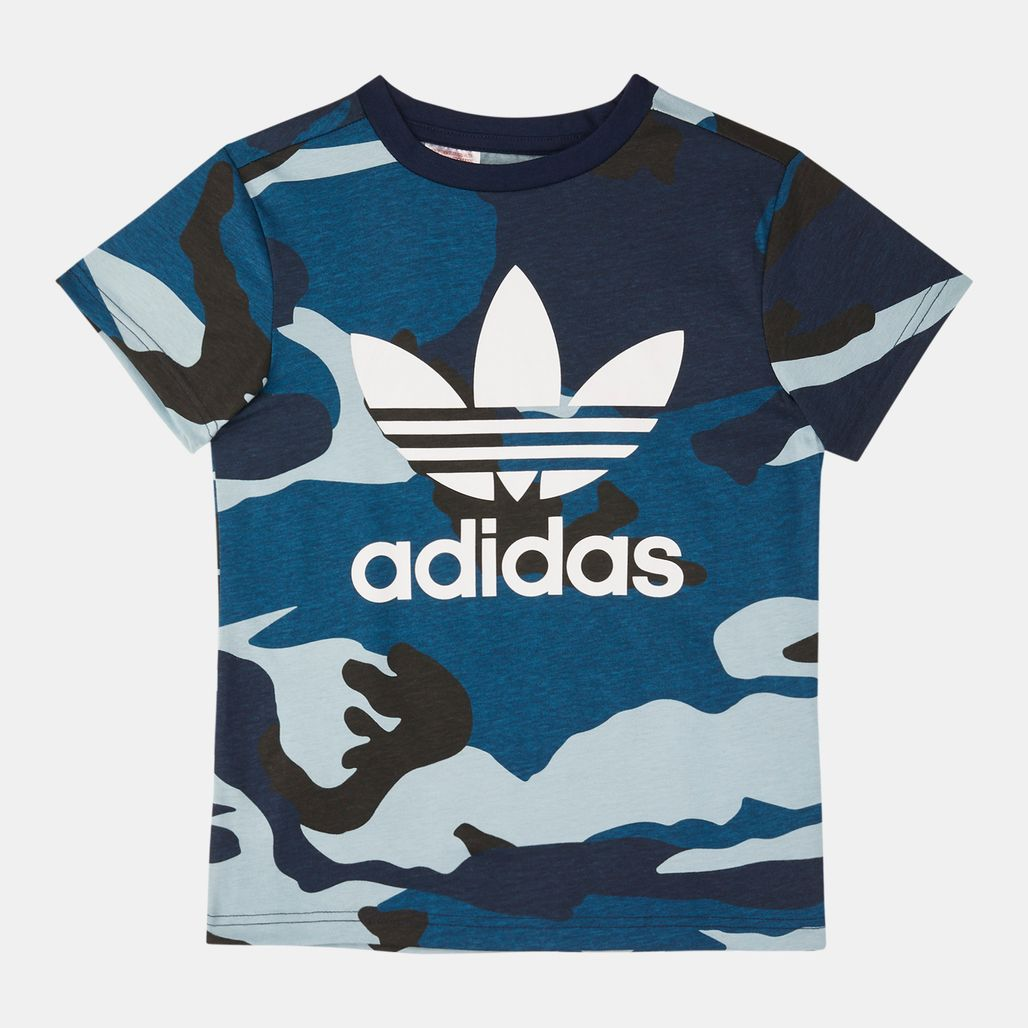 adidas Originals Kids' Camouflage T-Shirt (Older Kids)