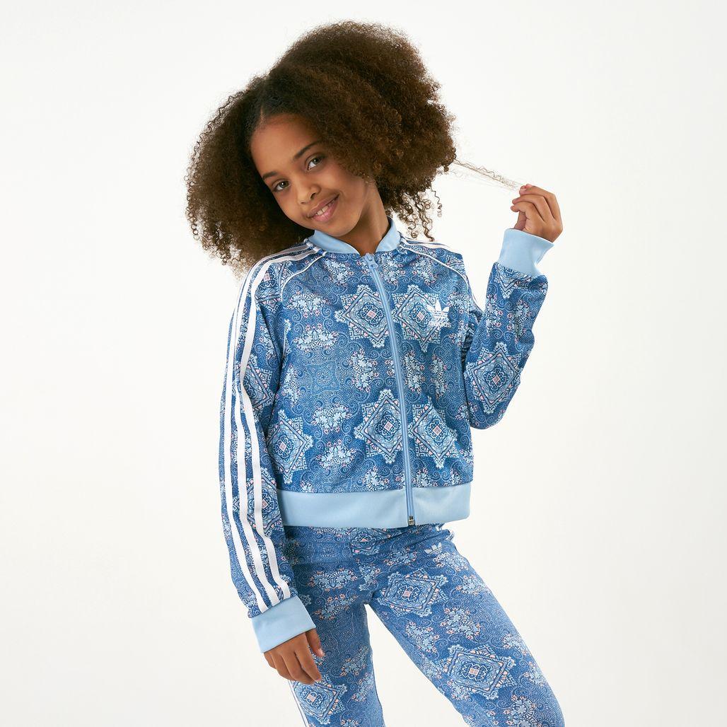 adidas Originals Kids' Cultural Crash Cropped SST Track Jacket (Older Kids)