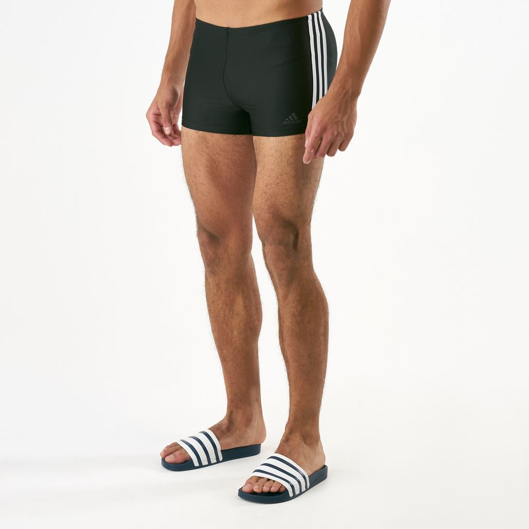 adidas Men's 3-Stripes Swim Boxers