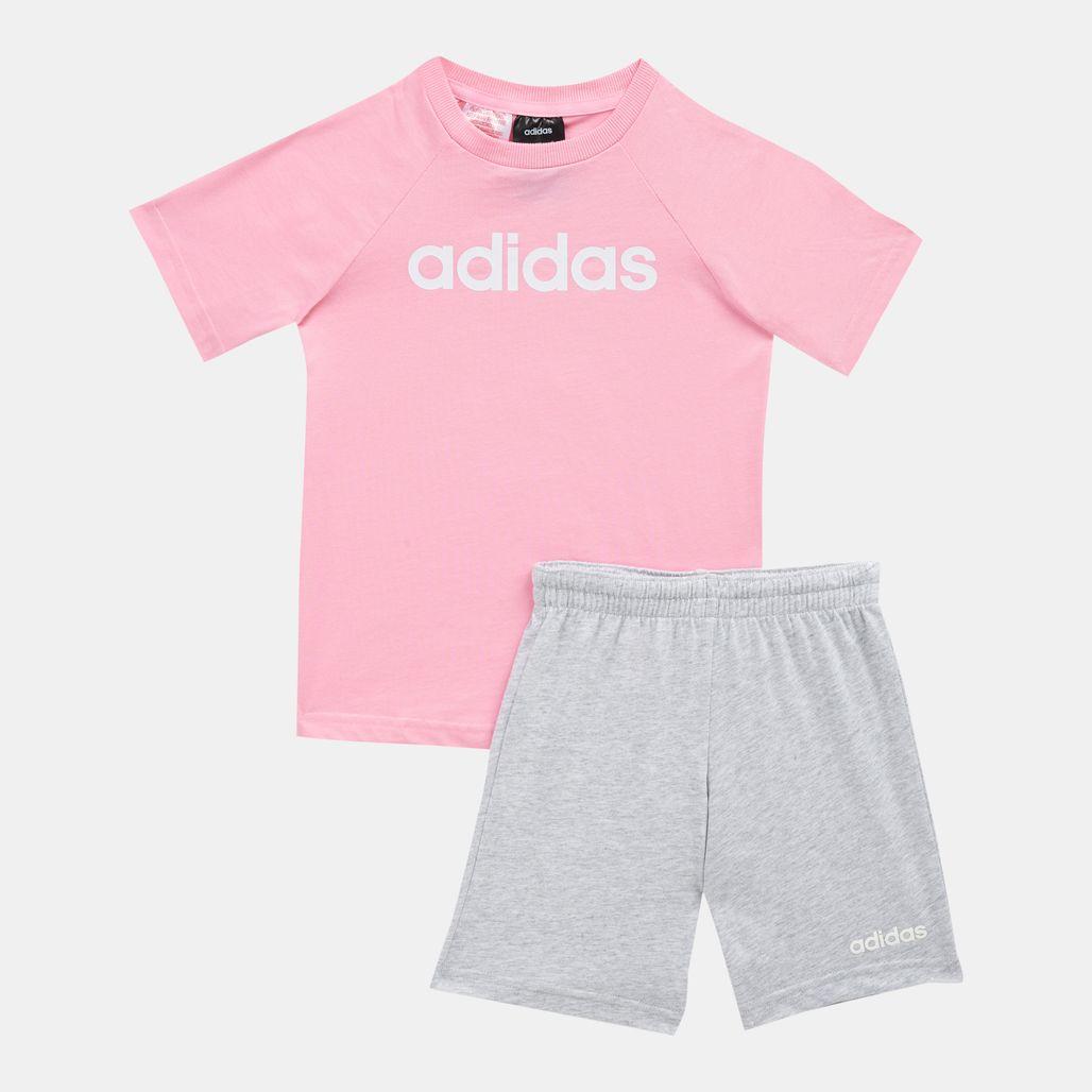 adidas Kids' Linear Summer Set (Baby & Toddler)